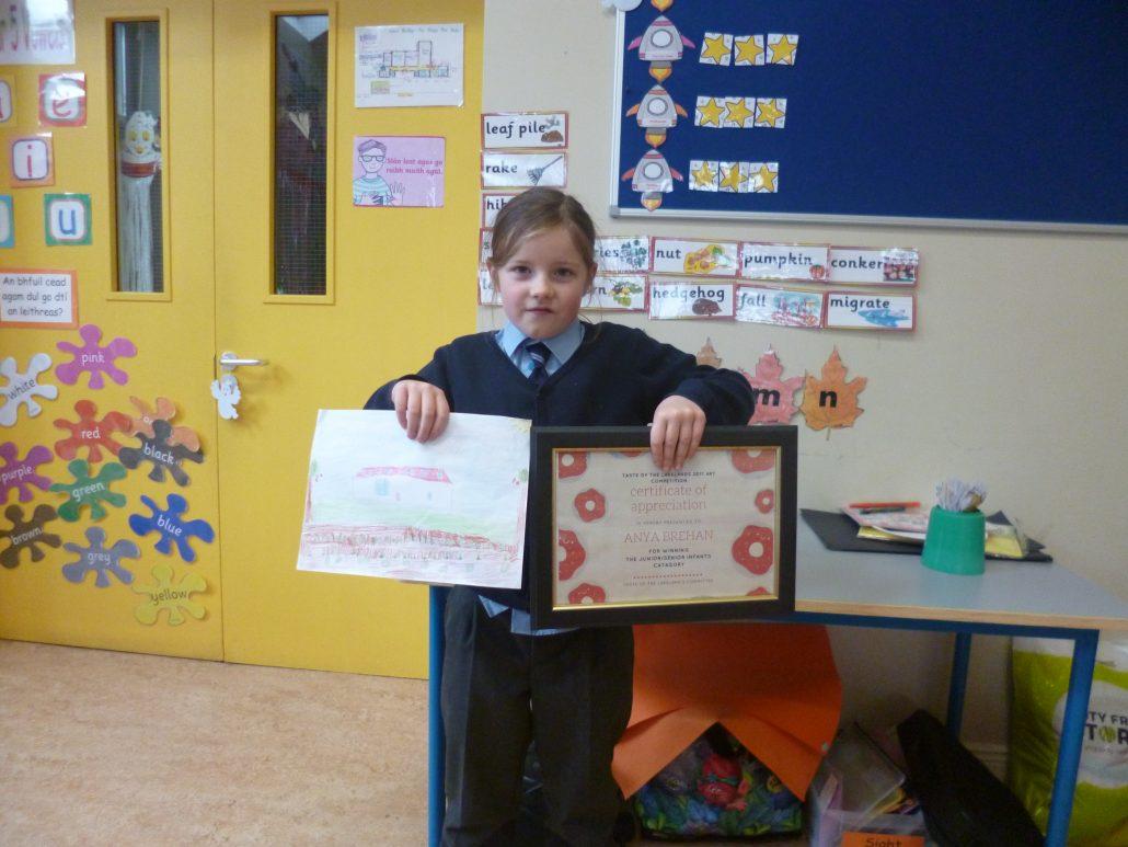 Anya's winning picture